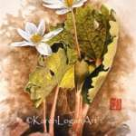Botanicals in Chinese Painting with Karen Logan......Members Only Morning Workshop