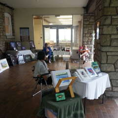 June 13, 2014  Paint and Sell Day at Niagara Glen