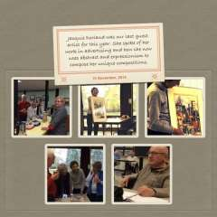 November 15, 2014 Talk by Jacquie Dorland