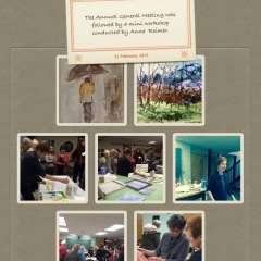 February 21, 2015 AGM followed by a Mini Workshop given by  Anne Reimer