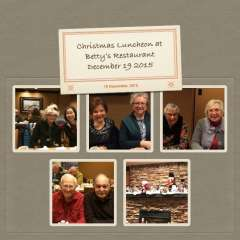 December 19, 2015 Christmas Luncheon
