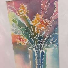 October 20 - Cathy Peters: Pouring watercolour technique
