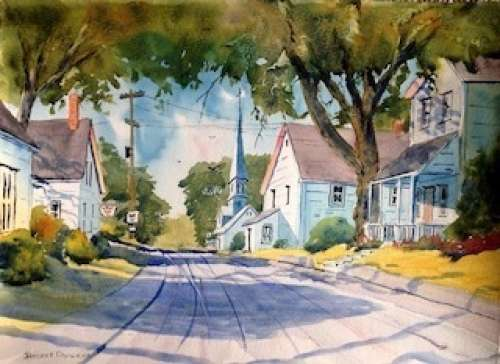 Street Scene in Watercolour with James Pay......Members Only Full Day Workshop